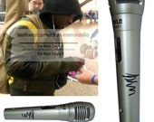 Wyclef Jean Fugees Rapper Signed Autographed Microphone Rap Mic Proof Photo COA