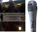 Too Short Bay Area Rapper Signed Autographed Microphone Rap Mic with Exact Proof Photo and Beckett BAS Authentication