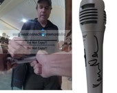 Kevin Nealon SIgned Autographed Microphone Mic with Exact Proof Photo of Signing and COA - Happy Gilmore - Saturday Night Live - SNL -Comedy