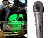 Cedric The Entertainer Comedian Signed Autographed Microphone Mic with Exact Proof Photo of Signing and COA