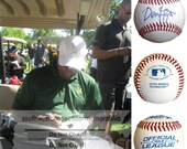 Dennis Haysbert Cleveland Indians Major League Signed Autographed Baseball Proof