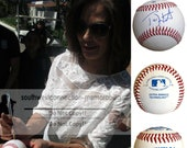 Teri Hatcher Desperate Housewives Superman Signed Autographed Baseball with Exact Proof Photo of Signing and COA