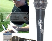 Clay Walker Country Music Signed Autographed Microphone Mic Proof Photo and Beckett BAS Authentication Certificate of Authenticity