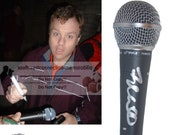 Frank Caliendo Mad TV Comedy NFL on Fox Signed Autographed Microphone Mic with Exact Proof Photo of Signing and COA