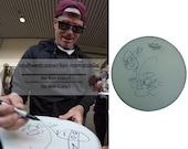 Vanilla Ice Signed Drumhead Teenage Mutant Ninja Turtles TMNT Sketch Drum Proof