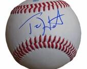 Teri Hatcher Desperate Housewives Superman Signed Autographed Baseball Proof COA