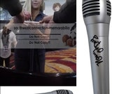 Nancy O 39 Dell Entertainment Tonight Host Signed Autographed Microphone Mic Proof