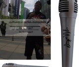 Master P. Percy Miller No Limit Records Signed Autographed Microphone Proof COA