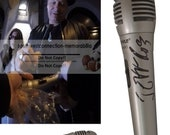 Jeff Ross Comedy Central Roastmaster General Signed Autographed Microphone Proof