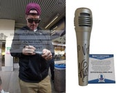 Vanilla Ice Signed Autographed Microphone with YO VIP Inscription with Exact Proof Photo of Vanilla Ice Signing - Beckett BAS Authentication