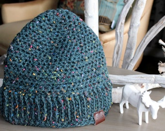 ELLA Kids Crochet Toque, Crochet Kids Beanie, Crochet Beanie, Warm Chunky Beanie, Girl's Toque, Toddler's Toque, Winter Hat