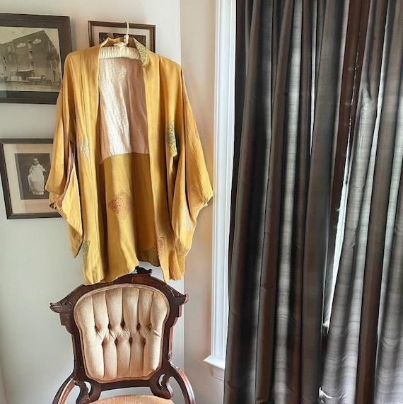 1960s Raw Silk Kimono