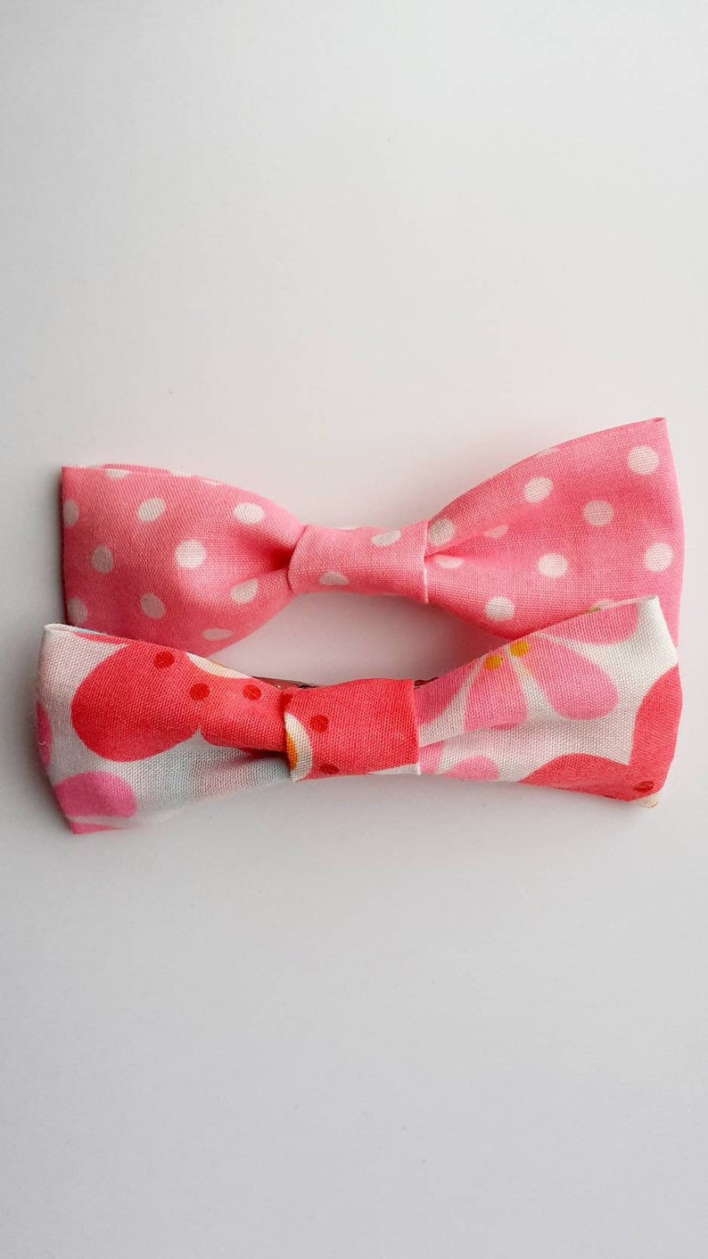 Butterfly Hair Bows with Clips
