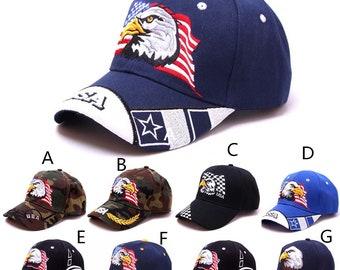 3eb72ddf Bald eagle hat cap | Etsy