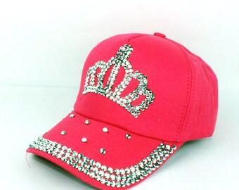 3e70f55ee Crown hat | Etsy
