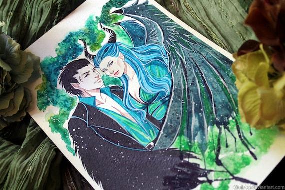 Original Maleficent And Diaval