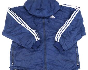 Adidas puffer jacket | Etsy