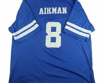 get cheap 23edb 7e5ea Troy aikman jersey | Etsy