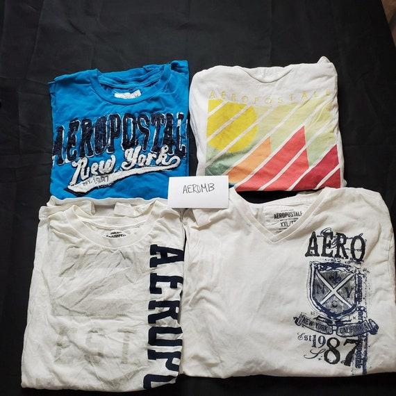 Lot of 8 Aéropostale T Shirts Men's Size 2X AEROM1