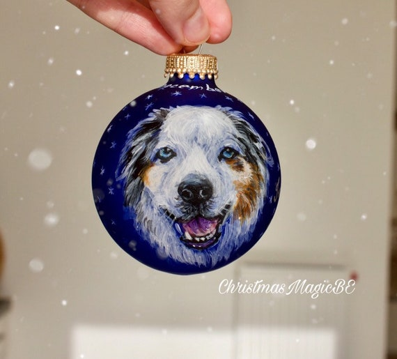 Hand Made personalised pet horse christmas bauble decoration