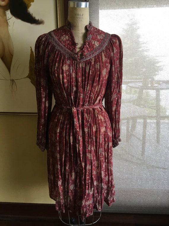 70s Vintage Designer Ritu Kumar for Roshafi India… - image 2