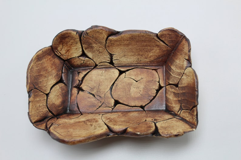Decorative Tray Handmade Pottery Clay Ceramics Gift for Her Tray