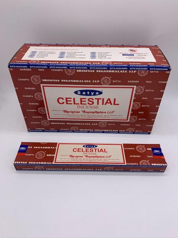 Satya Nag Champa Celestial Incense Sticks 15 Gram Box Bulk Etsy