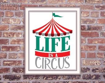 Nadel Gefilzt Landschaft Das Leben Ist Ein Zirkus Zelt Etsy