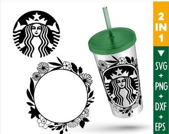 Starbucks Silhouette Etsy