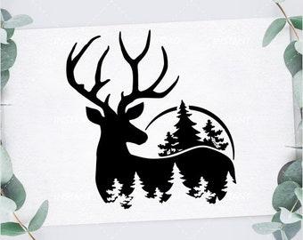 Deer Svg Etsy