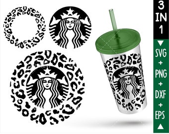 Leopard Starbucks Etsy