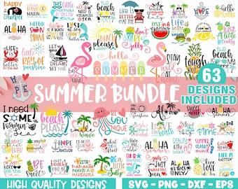 Summer Svg Bundle Etsy
