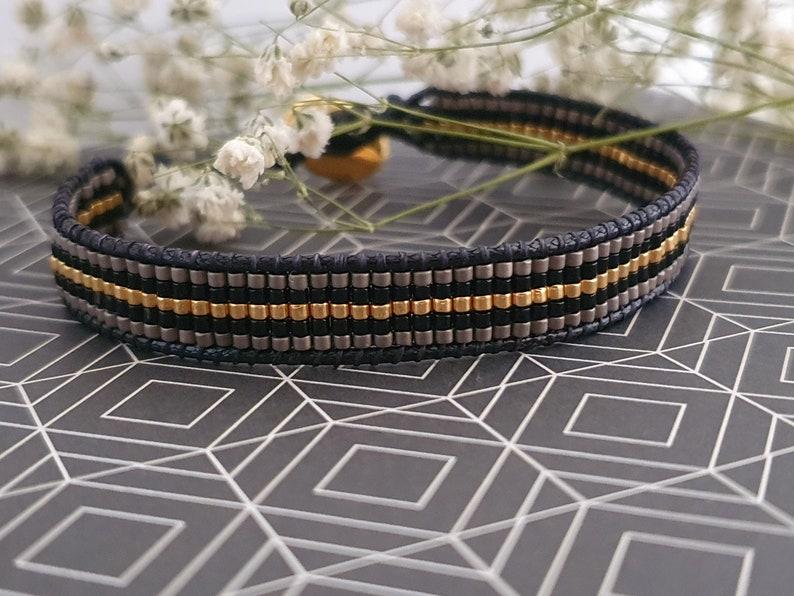 Handmade Beaded Bracelet Stacking BraceletMinimalist BraceletDainty BraceletGreek JewelryArmcandyArmpartyMiyuki Delica Bracelet