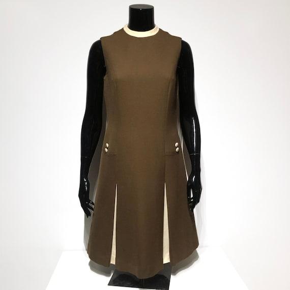 Original Vintage 60s wool dress