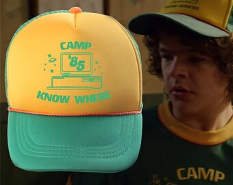 3ffc08c23f670 Camp Know Where Hat / Stranger Things / Camp Know Where Cap / Stranger  Things Merch / Camp no where hat / Camp No Where Cap