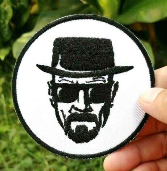 Breaking Bad Patch Walter White Heisenberg Embroidered Iron On Sew On Patches