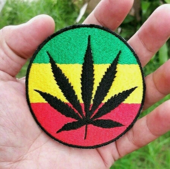 Bob Marley Young Face Embroidered Big Patch The Wailers Reggae Music for Back