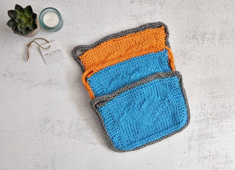 Kitchen Accessory Housewarming Gift Handmade Trivet Knit Cotton Potholders Trivet Set of 3 Ready to Ship Hostess Gift Kitchen Hot Pad