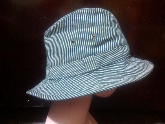Vintage Hickory Bucket Hat Vintage Hickory Hat Vin