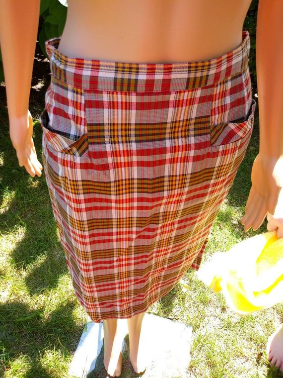 Homemade 1950s pencil skirt