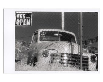Real Photo Postcard, Lakewood, Nashville, Old Chevy Truck, April, 1998.