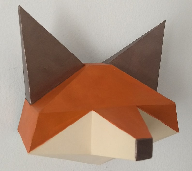 PNG Papercutting Laser cut Foxy Head Silhouette Cameo