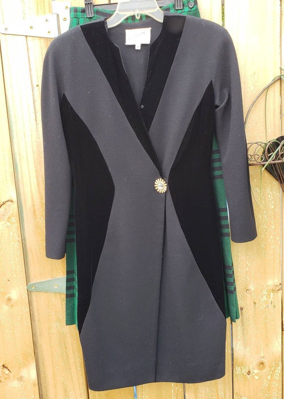 Vintage Scaasi Dress | Black Dress