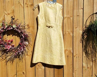 Yellow spring Dress- peck and peck