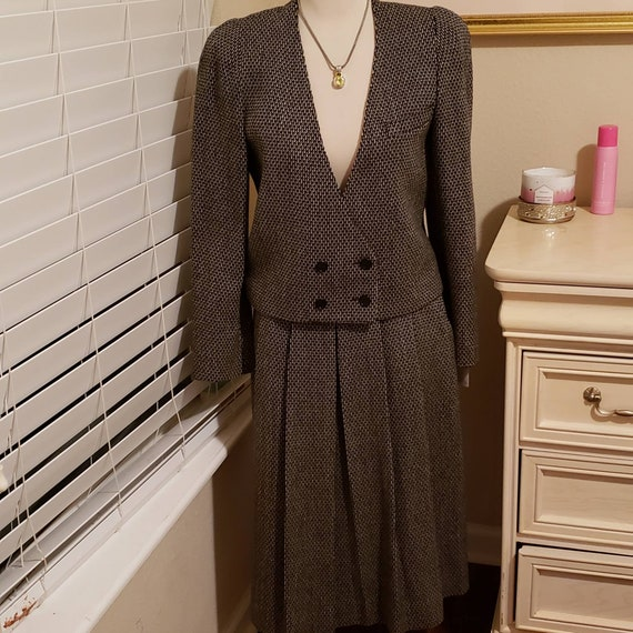 Vintage Christian Dior Separates Skirt Suit