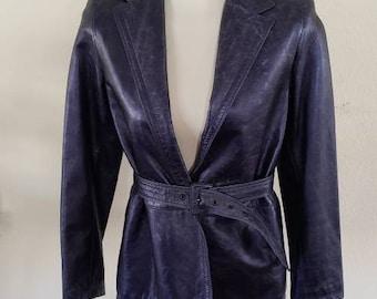 Vintage Versace Jacket | Istante Versace Jacket | Leather Versace Jacket