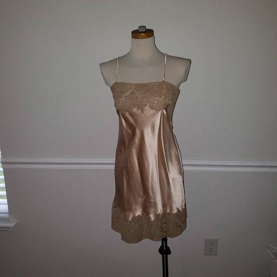 Vintage silk nighty- lingerie RARE