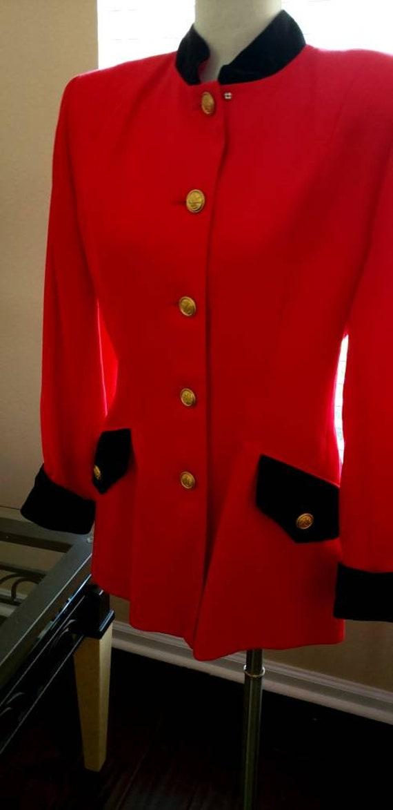 Lillie Rubin red jacket