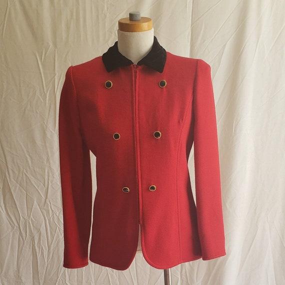Vintage Valentino Red Jacket