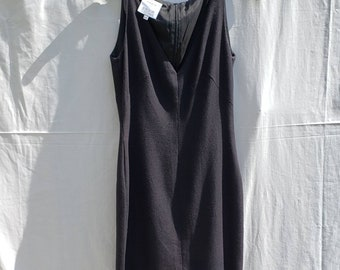 Black Akris Dress | Black party dress